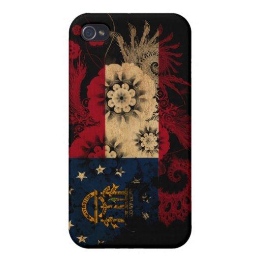 Georgia Flag iPhone 4/4S Cases