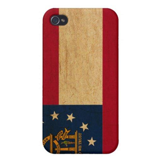 Georgia Flag Cases For iPhone 4