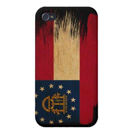 Georgia Flag iPhone 4 Case
