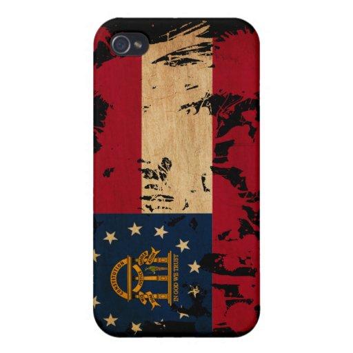 Georgia Flag Covers For iPhone 4