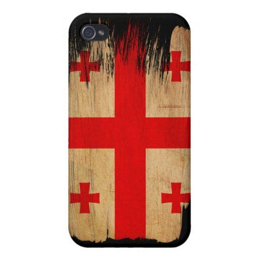 Georgia Flag iPhone 4/4S Cover