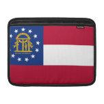 Georgia Flag MacBook Sleeves
