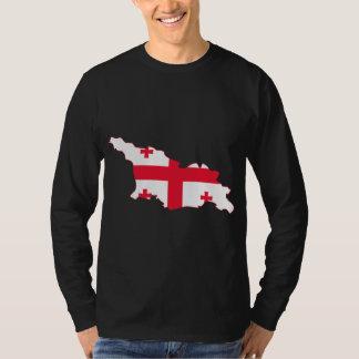 Georgia Flag Map GE T-Shirt