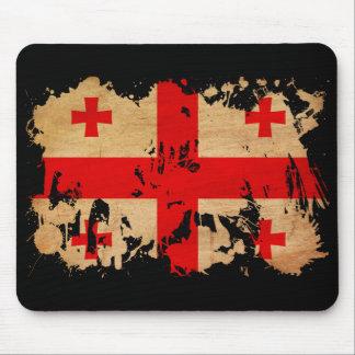 Georgia Flag Mouse Pad