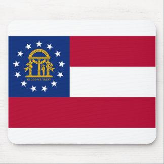 Georgia flag mouse pads