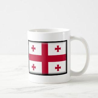 Georgia Flag Classic White Coffee Mug