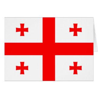 Georgia Flag Note Card