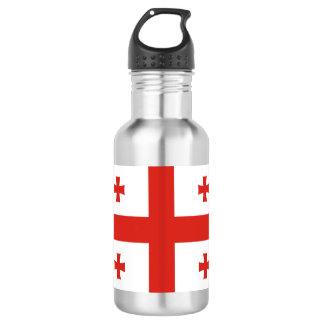 Georgia Flag 532 Ml Water Bottle