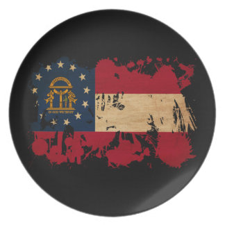 Georgia Flag Plate