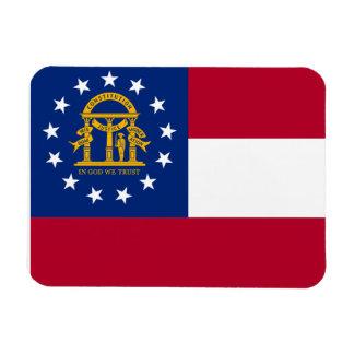 Georgia Flag Magnets
