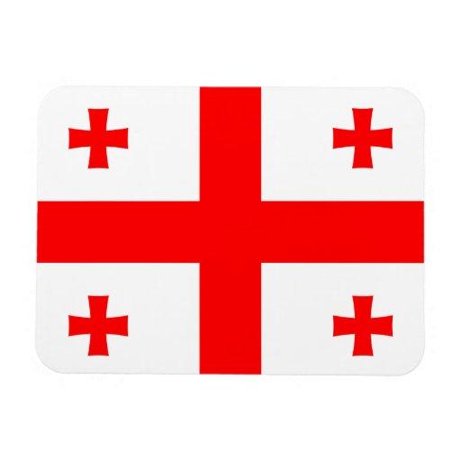 Georgia Flag Rectangle Magnet