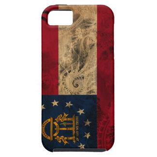 Georgia Flag Tough iPhone 5 Case