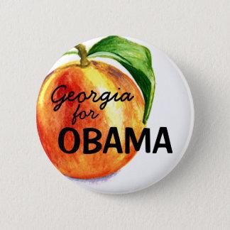 Georgia for OBAMA 6 Cm Round Badge