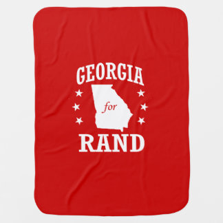 GEORGIA FOR RAND PAUL BABY BLANKETS