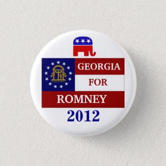 Georgia  for Romney 2012 3 Cm Round Badge