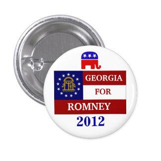 Georgia for Romney 2012 Pinback Button