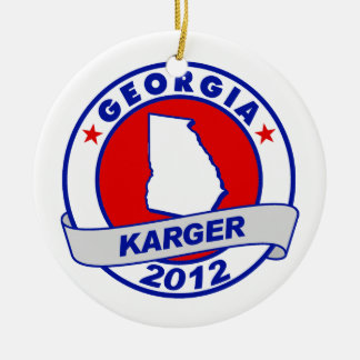 Georgia Fred Karger Ornaments