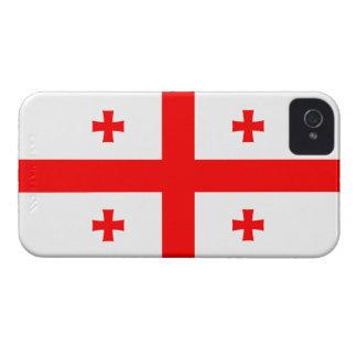 Georgia – Georgian Flag Case-Mate iPhone 4 Cases
