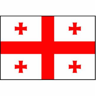 Georgia – Georgian Flag Photo Cutouts