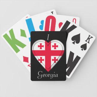 Georgia Georgian flag Playing Cards