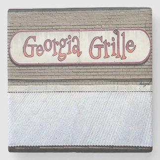 Georgia Grill, Buckhead, Atlanta Marble Stone Coas Stone Coaster