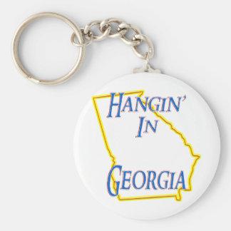 Georgia - Hangin' Key Ring