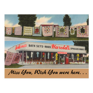 Georgia, Harold's Shop Post Cards