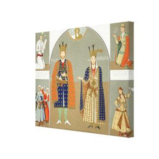 Georgia in the XVth century: King Alexander I (141 Canvas Print