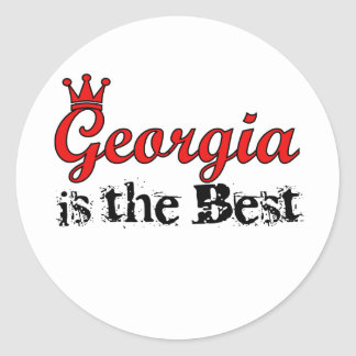 Georgia is the Best Stickers