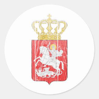 Georgia Lesser Coat Of Arms Stickers