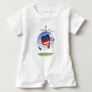 georgia loud and proud, tony fernandes baby bodysuit