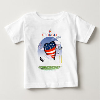 georgia loud and proud, tony fernandes baby T-Shirt