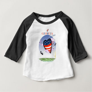 georgia loud and proud, tony fernandes baby T-Shirt