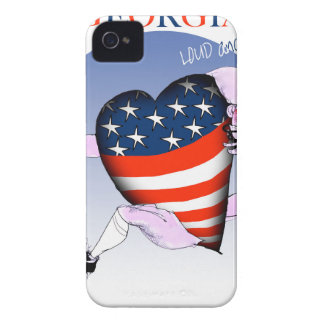 georgia loud and proud, tony fernandes iPhone 4 case