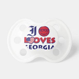Georgia lovers design pacifiers