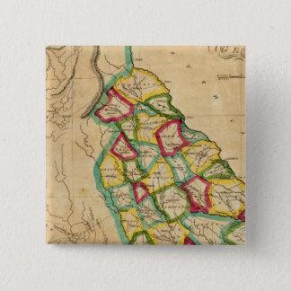 Georgia Map 15 Cm Square Badge