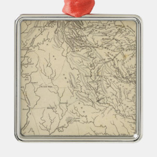 Georgia Map by Arrowsmith Christmas Ornament