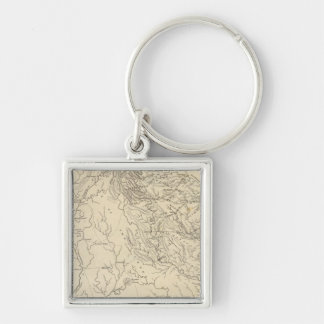 Georgia Map by Arrowsmith Key Ring