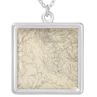 Georgia Map by Arrowsmith Silver Plated Necklace