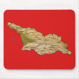 Georgia Map Mousepad