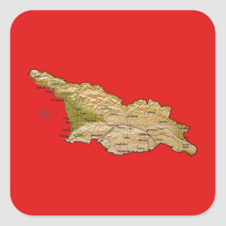 Georgia Map Sticker
