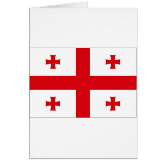 Georgia National Flag Greeting Cards