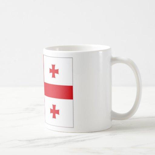 Georgia National Flag Coffee Mug