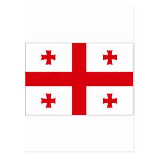 Georgia National Flag Postcard
