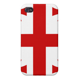 Georgia National Nation Flag iPhone 4/4S Covers