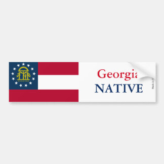 Georgia Native Bumper Sticker