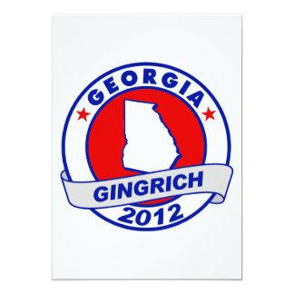 Georgia Newt Gingrich Custom Invitation