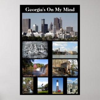 Georgia On My MInd Poster