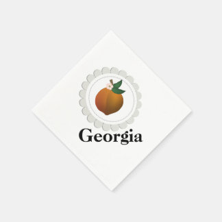 Georgia Peach Disposable Napkin