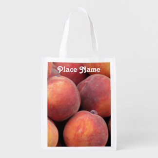 Georgia Peach Reusable Grocery Bag